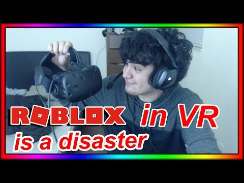 ROBLOX IN VR IS ACTUALLY TERRIBLE LOL