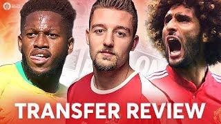 FRED, MILINKOVIC-SAVIC, FELLAINI! Manchester United Transfer News Review