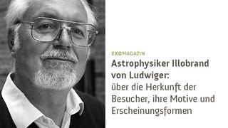 Illobrand von Ludwiger - Über die Herkunft der Besucher