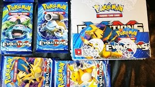pokemon xy evolutions booster box insane secret rare pulls ex break