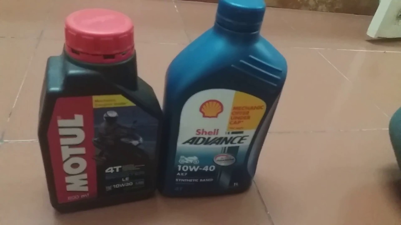 Correct engine oil for your Scooter and Motorcycle. #Activa #Jupiter