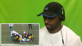 Dolphins vs. Steelers | NFL Wild Card Game Highlights Reacton