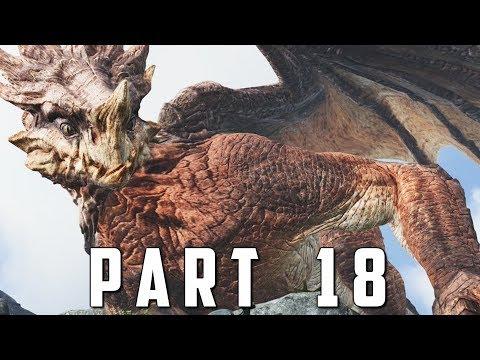 GOD OF WAR Walkthrough Gameplay Part 18 - CHAINED DRAGON (God of War 4)
