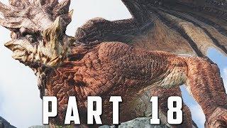 GOD OF WAR Walkthrough Gameplay Part 18 - CHAINED DRAGON God of War 4