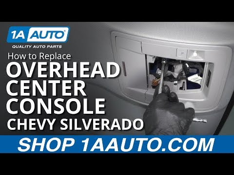 how-to-replace-overhead-center-console-14-19-chevy-silverado