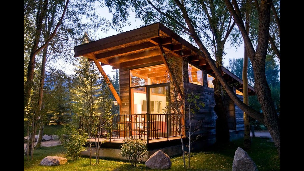 the wedge a small cabin designed and built by wheelhaus youtube