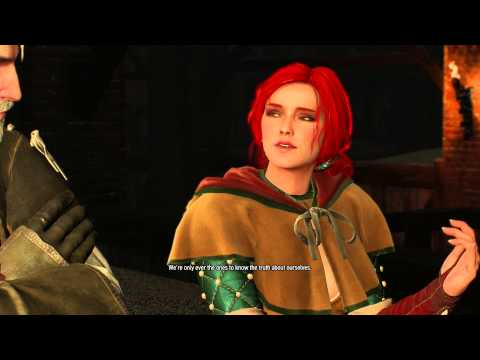 "The Witcher 3 - Pyres Of Novigrad: Triss Merigold ""How's Yen?"" Dialogue, Brandon ""Set-Up"" PS4"