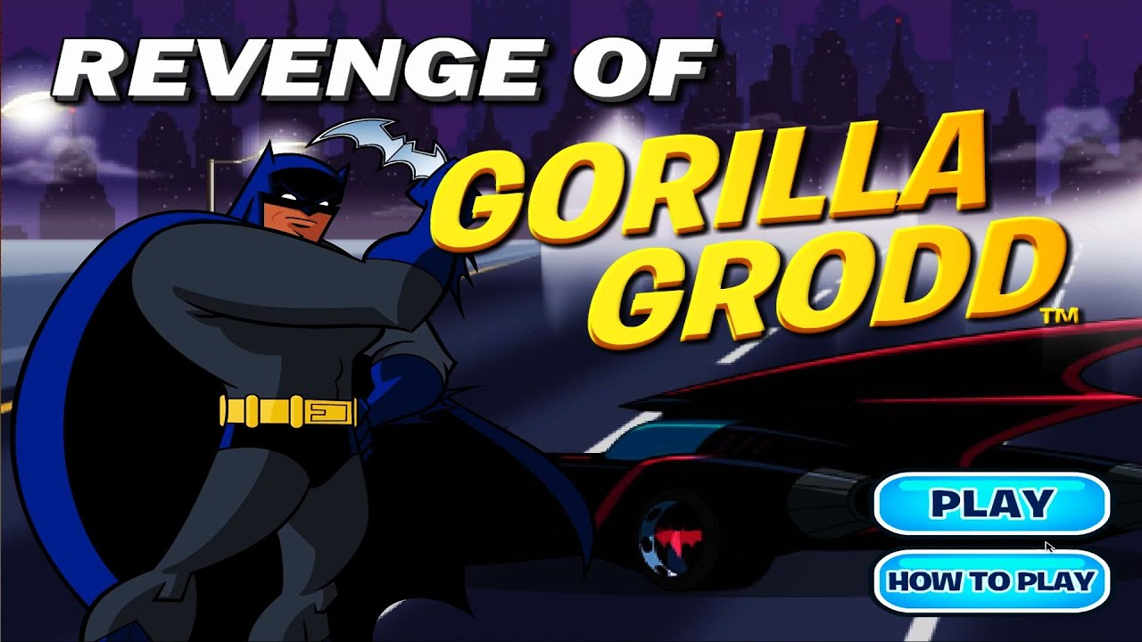Batman – Revenge of Gorilla Grodd