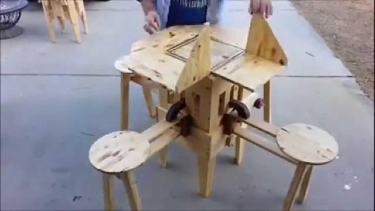 Katlanabilir Piknik Masası Portable Picnic Table   Folding Picnic Table    Mechanical Picnic Table   YouTube