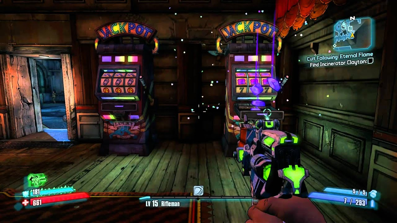 Slot Machine Locations Borderlands 2