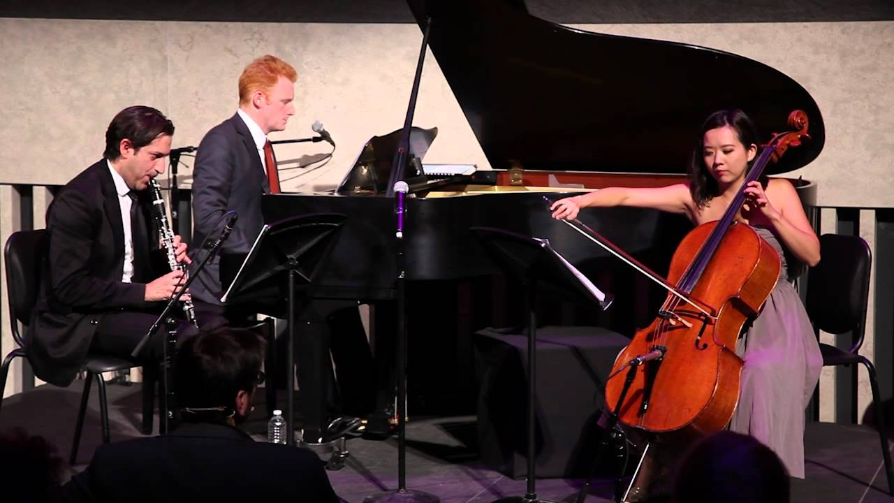 Offstage with Magnus Lindberg: Performance of Trio for clarinet, cello, and piano (8 of 8)