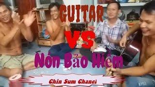 LK Nhạc Chế Guitar Gõ Nón Bảo Hiểm Cực Vui #nhacche