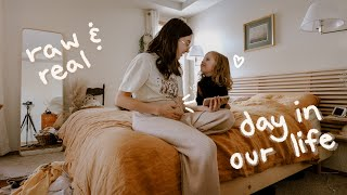 Super Honest & Real Day in the Life of a PREGNANT Mom with 2 Toddlers // Unedited Vlog