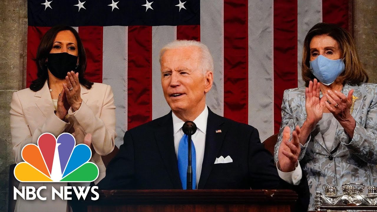 Watch President Biden's Full Address To Joint Session of Congress | NBC News