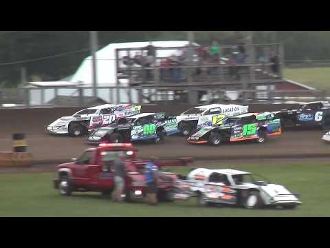 USMTS Heat 2 Fayette County Speedway West Union ,IA 9/1/19