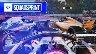 F1 Youtubers vs Esports Drivers - Veloce Squad Sprint #1