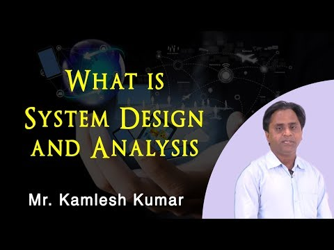 System Design and Analysis    Software Engineering    BCA, MCA    Asst. Prof. Kamlesh Kumar