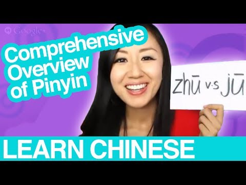 Learn Mandarin Chinese Pinyin Pronunciation - Comprehensive