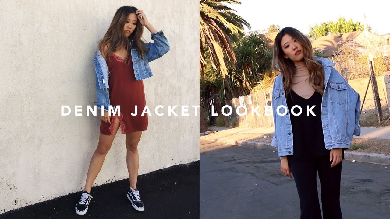 How I Style / Denim Jacket - YouTube