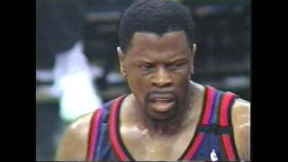 NBA Playoffs 1999 - New York Knicks vs Miami Heat (Game 5, Second Half)