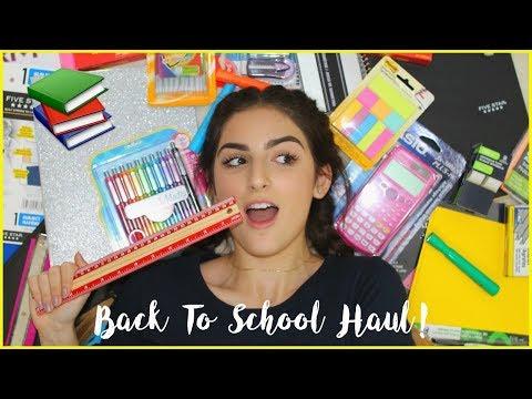 Back To School Supplies Haul 2017! | Sabrina Koun