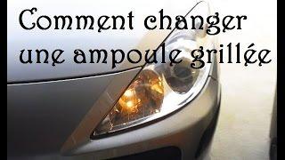 TUTO - Comment changer une ampoule - Feux de position  - Peugeot 307