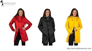 Womens Rain Coat: Handmade Fisherman Raincoat