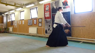 boken suburi 8 directions/happo/nyolc irány [TUTORIAL] Aikido basic weapon technique 合気剣