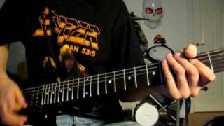 Mötley Crüe - Too Fast For Love (guitar cover)
