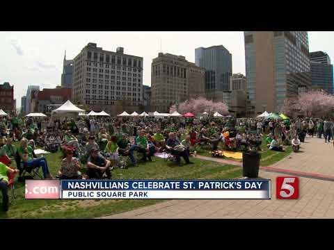 Hundreds Enjoy Music City Irish Festival