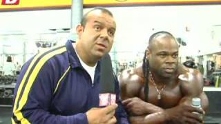 Muscular Development Bodybuilding Videos Kai Greene After the 2009 Olympia Coming Back!