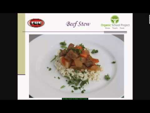 "Topic: Lunch 1, Part 4 of 4 - ""Healthy Recipes Made Easy"" Webinar Series"