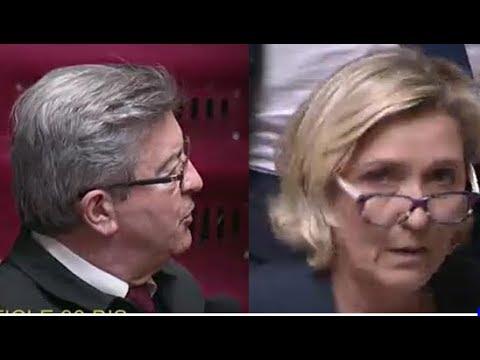 JL Mélenchon donne une petite leçon d'Histoire à M. Le Pen à l'Assemblée nationale !