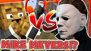 HELP SAVE ME FROM MIKE MEYERS | Minecraft - Mod Battle (MIKE MYERS)