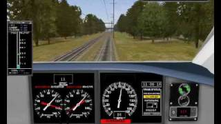 Microsoft Train Simulator - Acela Express, Washigton - New Carroton