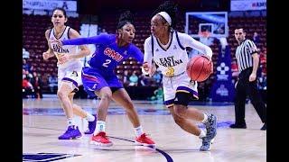 2018 American Women's Basketball Championship Highlights - ECU 85, SMU 74