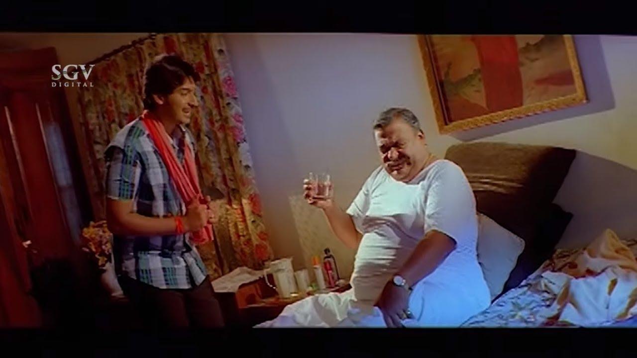 Prajwal Give alcohol as tonic to Doddanna | New Kannada