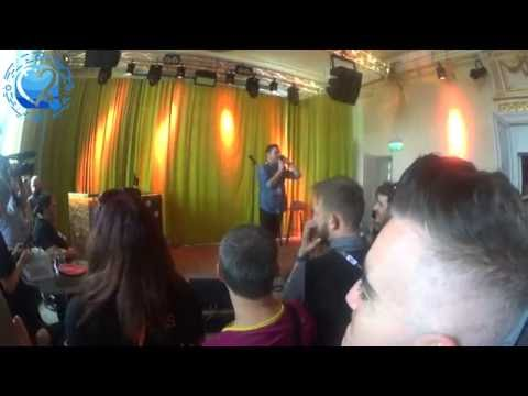 The Dami Im invite to the Sobra Bar in Stockholm...Meet and greet