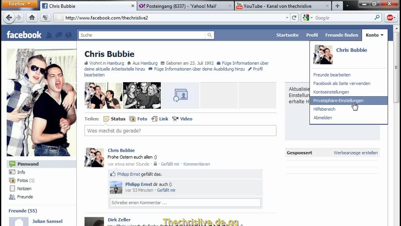 Facebook Freunde Ausblenden