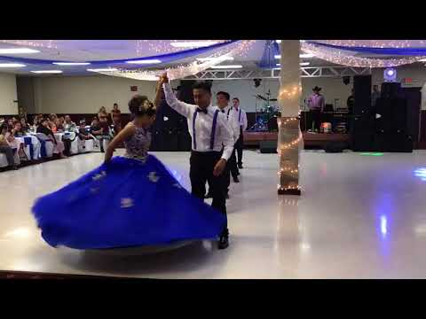 Lezly's quinceañera vals - Can I Have This Dance