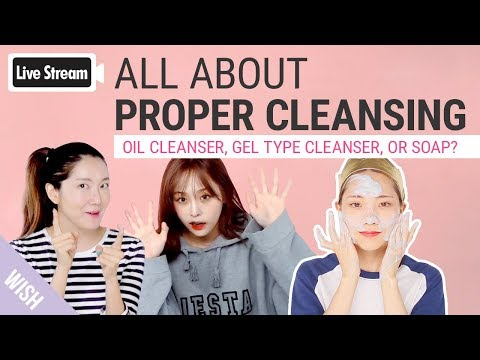 All About Proper Cleansing Method for Beautiful Skin!  Stop Crude Skincare