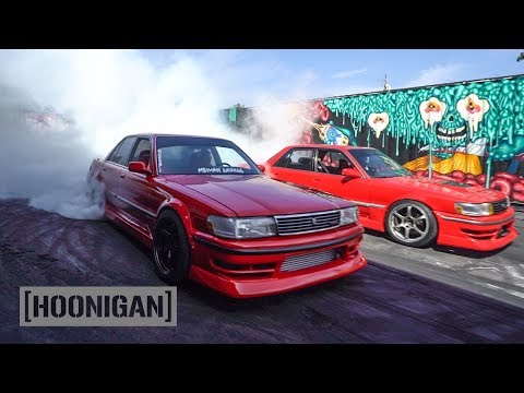 Twin 1JZ Cressida Fire Fight // DT261