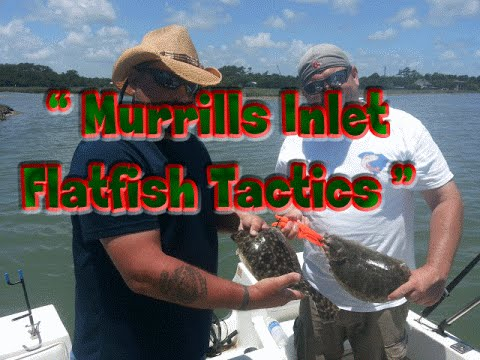 Flounder fishing at murrells inlet south carolina for Murrells inlet fishing