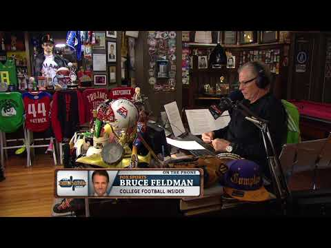FOX Sports' Bruce Feldman on UCLA & Florida Vying for Chip Kelly | The Dan Patrick Show | 11/20/17