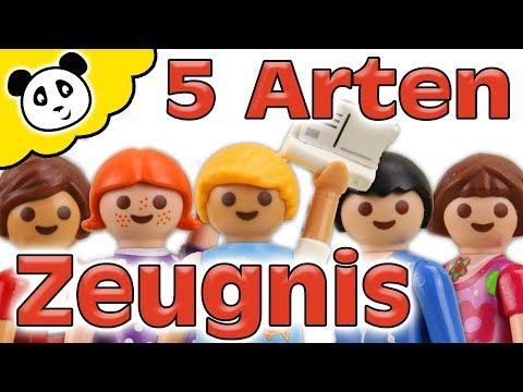 Playmobil Schule - 5 Arten Zeugnisse - Playmobil Film