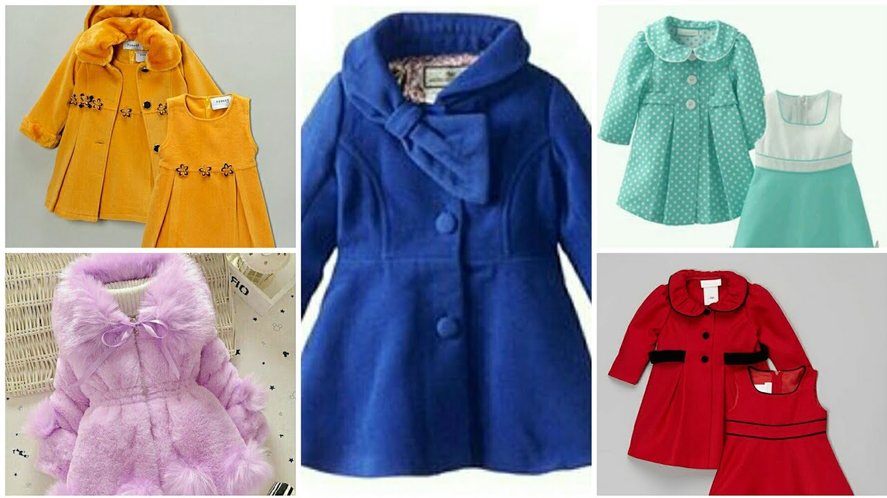 Most Stylish Cute Baby Girls Coat's/Ruffle Jackets/Winter Outerwear/Overcoat For Toddler/Little Girl 2