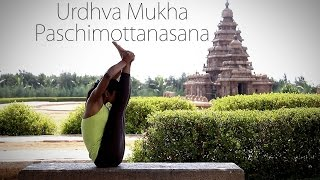 How to: Urdhva Mukha Paschimottanasana (Upward facing intense stretch)