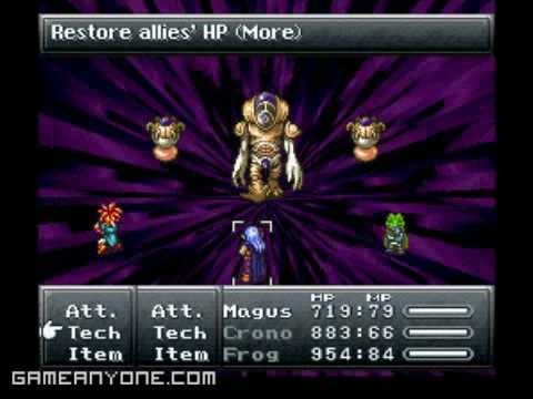 Chrono Trigger - Lavos Third Form (Final Boss) - YouTube