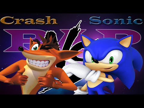 CRASH BANDICOOT VS SONIC THE HEDGEHOG RAP | CarRaxX ft. Jexer