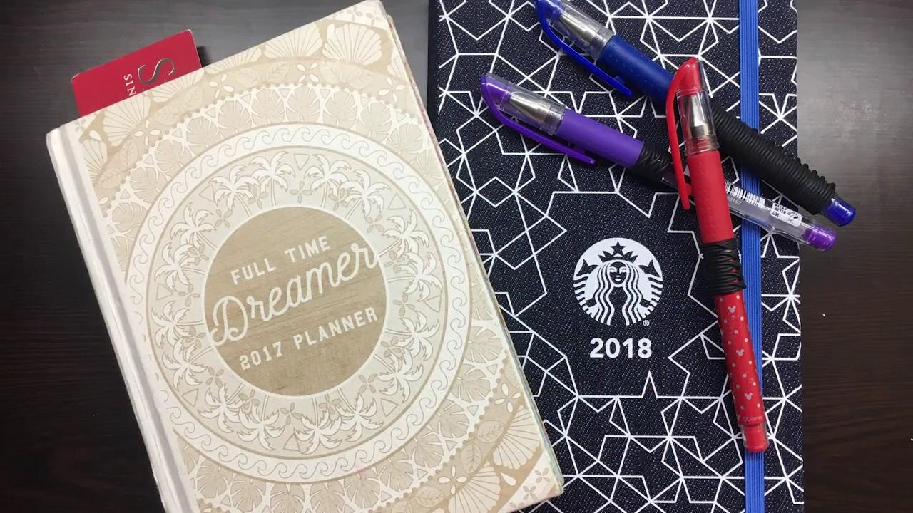 Random Unboxing] Starbucks by Moleskine Singapore 2018 Planner ...